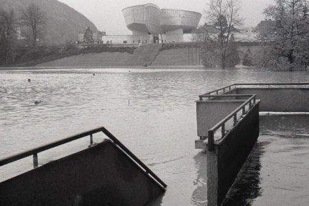 V októbri 1974 zažila Banská Bystrica ničivú povodeň